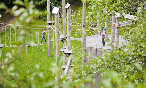 SKYROPE Rope Course Park Bad Harzburg